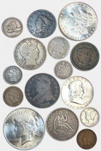 Silver and Copper Coins